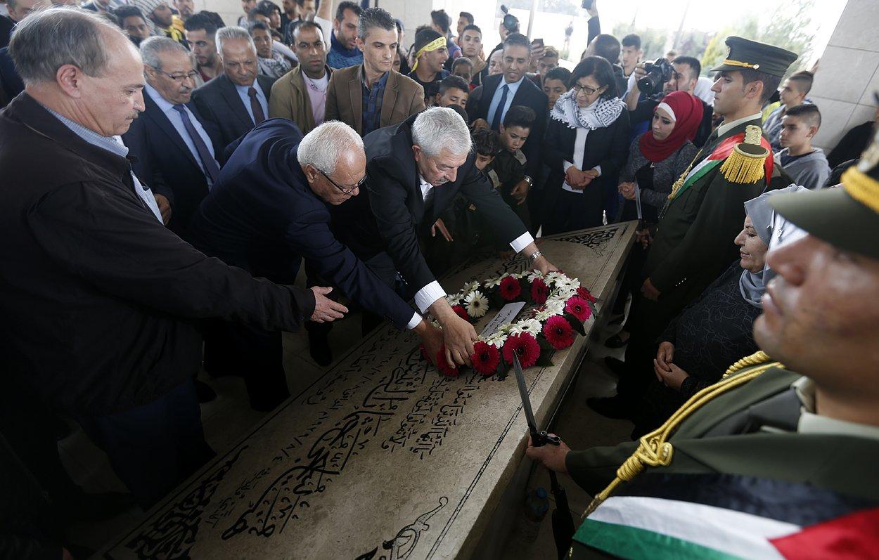إحياء الذكرى الـ13 لاستشهاد ياسر عرفات بفعاليات ومسيرات في الضفة-11