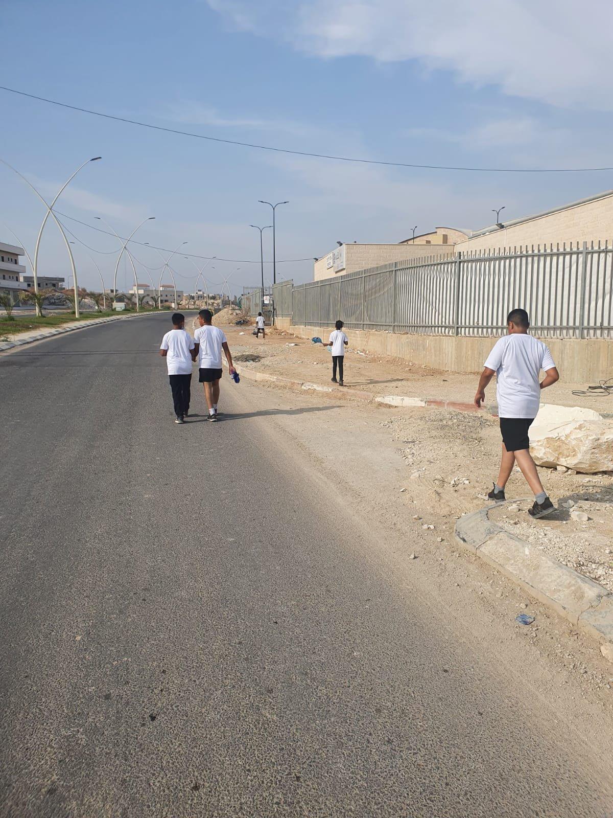 مشاركة افتراضية واسعة في يوم المشي العالمي في الجماهيري رهط