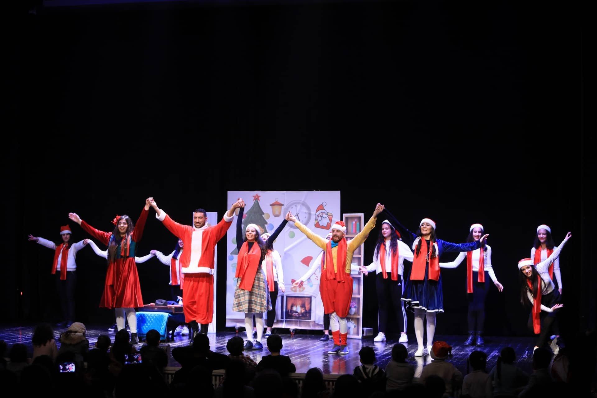 افتتاح فعاليات مهرجان شو نعمل في عيد الميلاد في مدينة بيت لحم