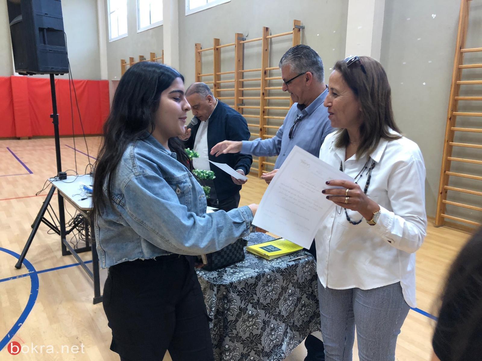 تواصل مشروع (المناخ التربوي السليم) في مدرسة أورط على أسم حلمي الشافعي عكا