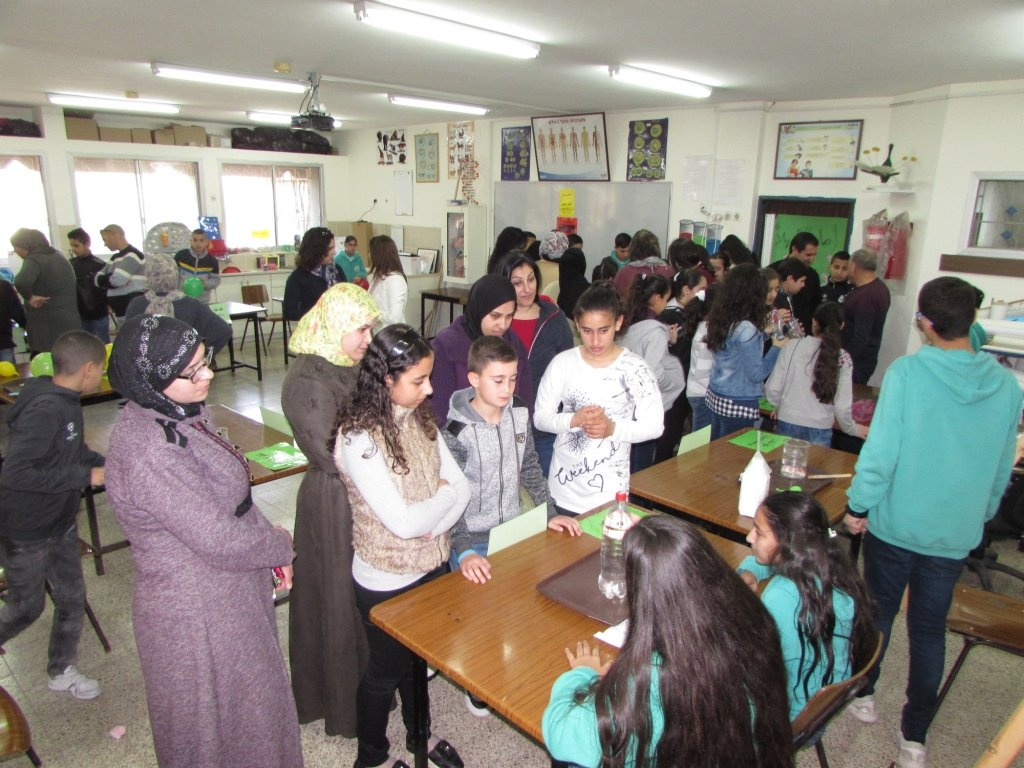 المدرسة الإعدادية الحديقة (أ) يافة الناصرة تنظم يومًا مفتوحًا لأهالي ولطلاب السوادس