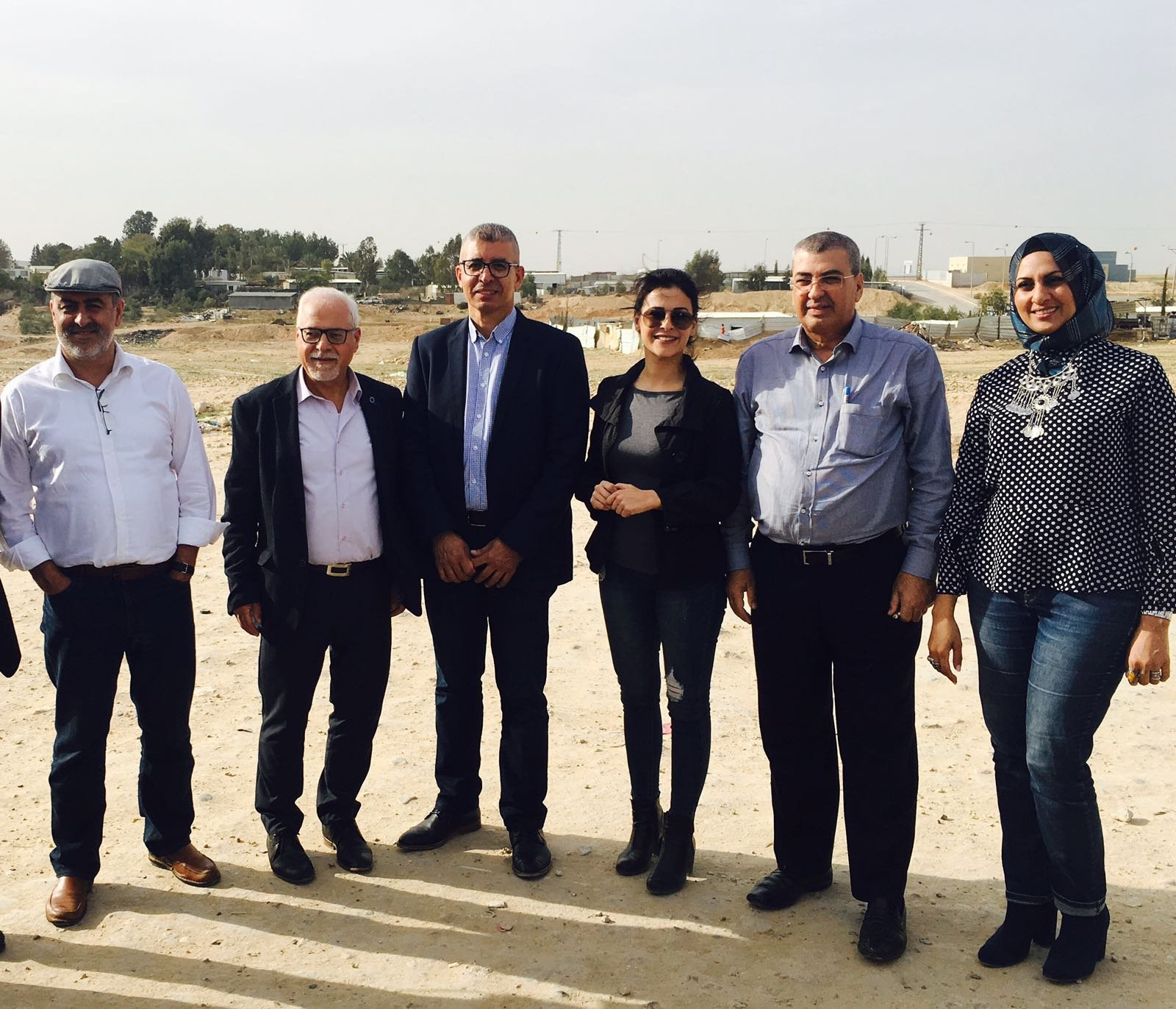 وفد جمعية تطوير صحة المجتمع العربي يزور رابطة الأطباء العرب وجمعية أطباء الأسنان العرب بالنقب