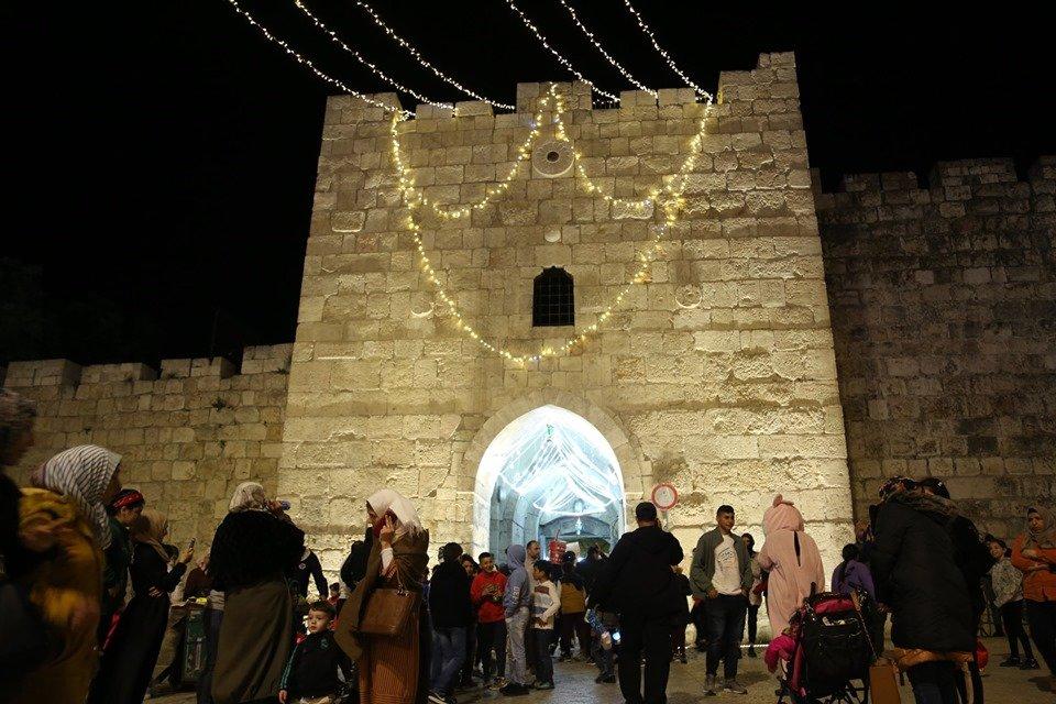 اضاءة فانوس القدس للعام الثالث على التوالي