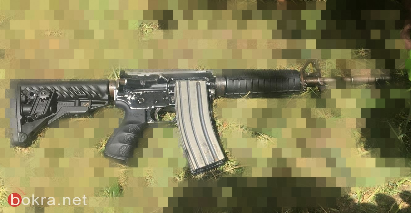 الناصرة: ضبط اسلحة من نوع كارلو و M16.