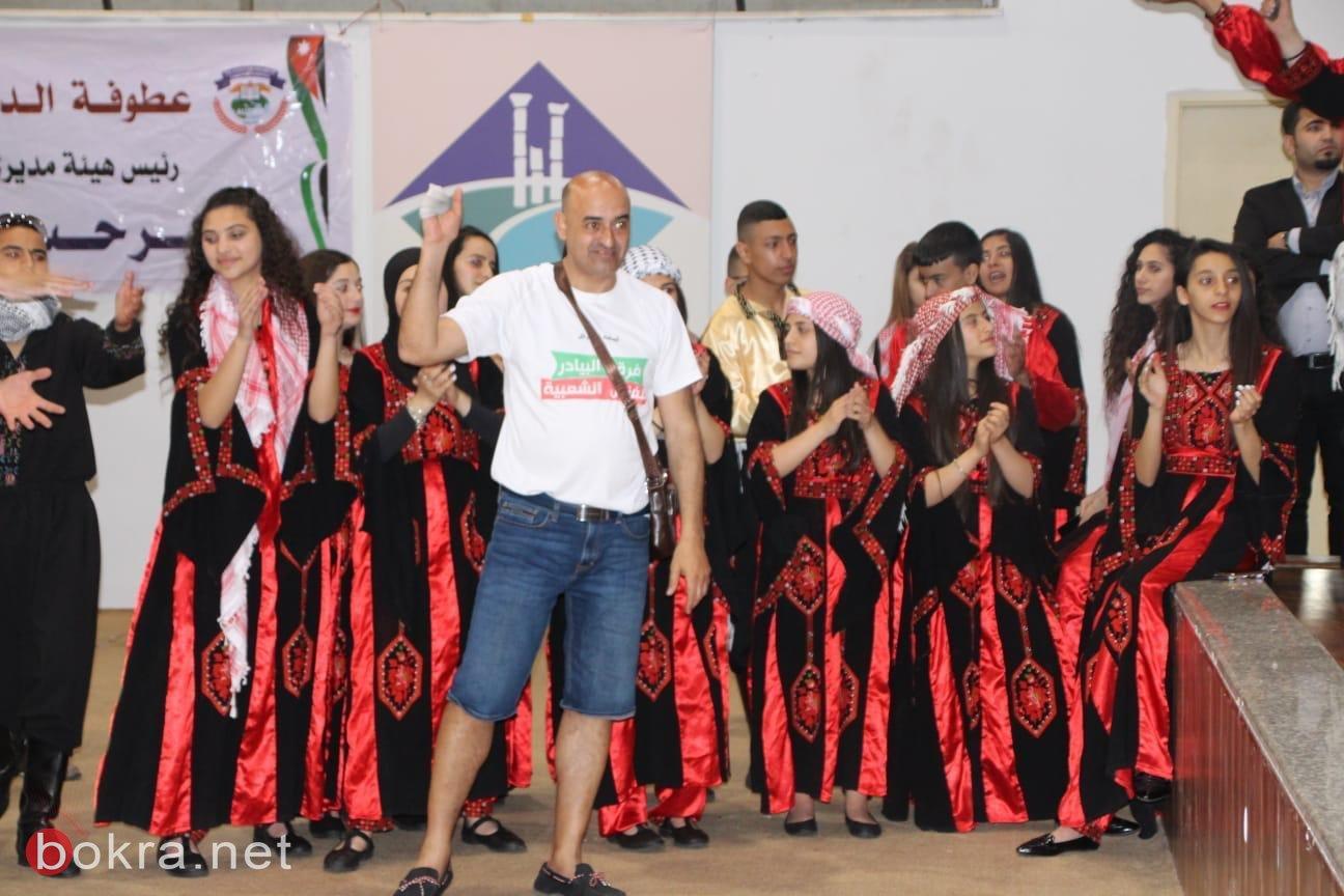 فرقة نسيم البادية وفرقة البيادر يتألقان في مهرجان الرمثا الدولي في الاردن