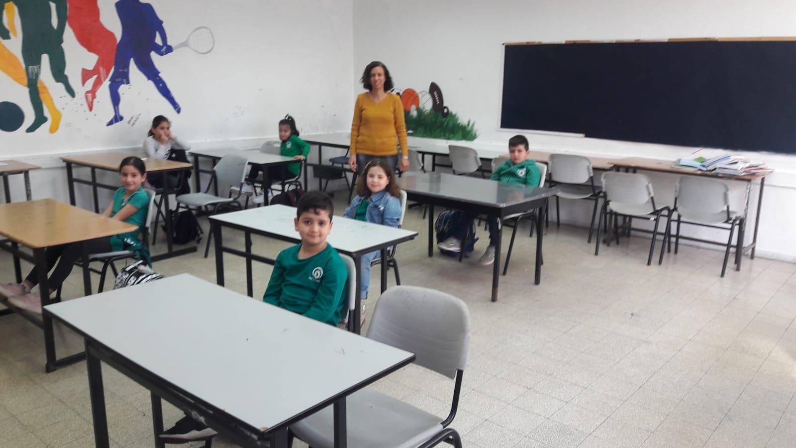 عودة نحو %60 من الطلاب إلى مقاعدهم: يشمل طلاب عرب