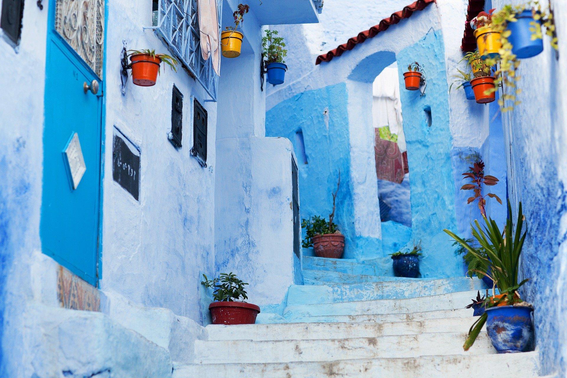 شفشاون المدينة الزرقاء التي اختيرت أجمل سادس مدينة في العالم
