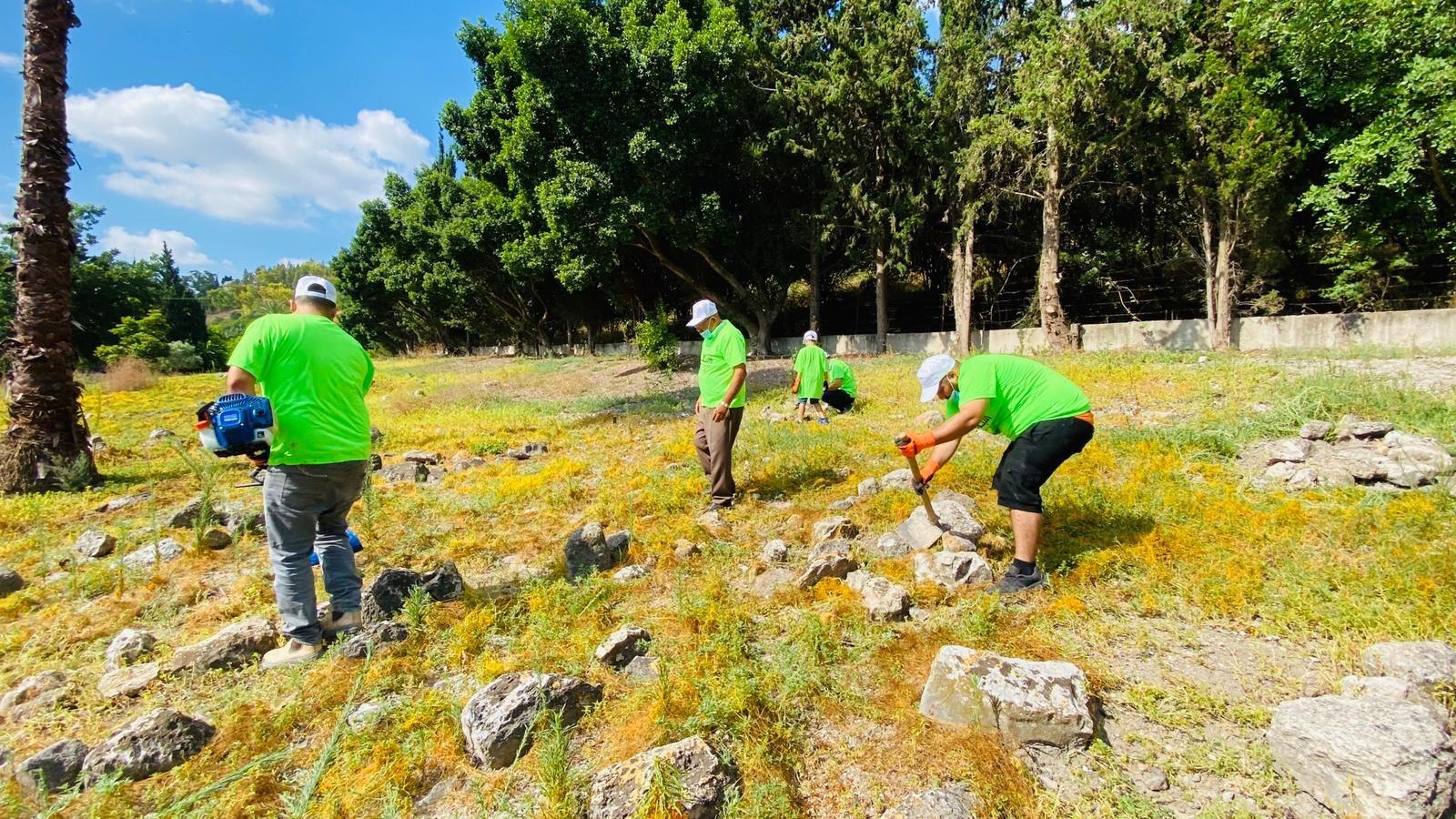 انطلاق معسكر الثبات 6 الذي تنظمه جمعية الأقصى في مقبرة قيرة وقامون