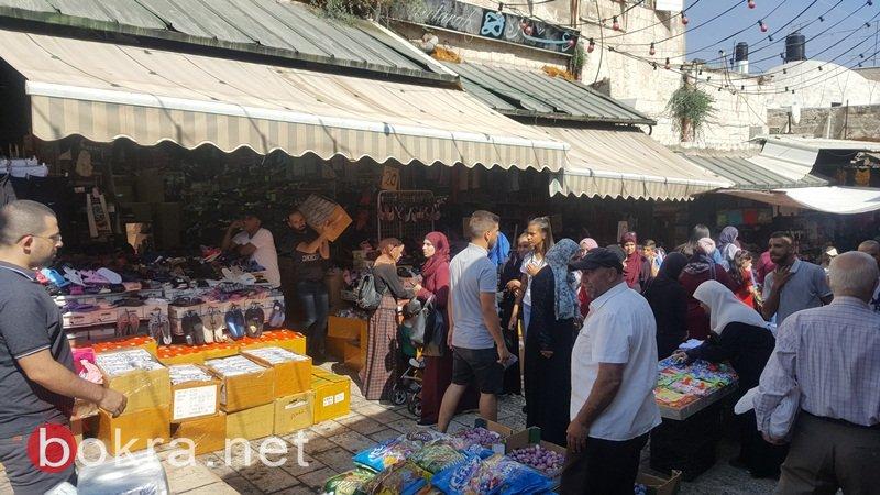 عشية العيد تجار القدس يشتكون من الركود التجاري