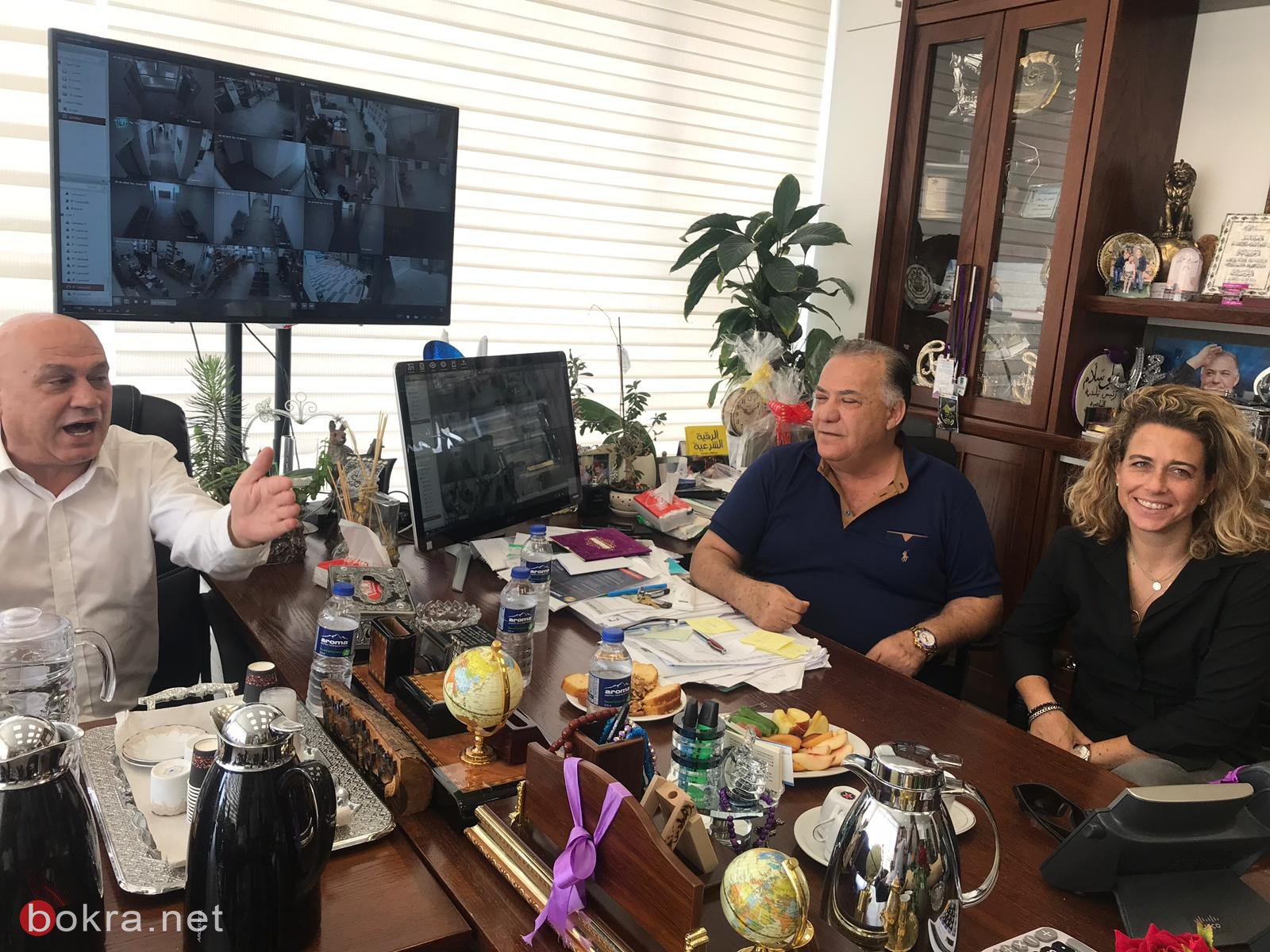 فريج ووفد المعسكر الديمقراطي يزور بلدية الناصرة، وسلّام: نعم للشراكة العربية اليهودية