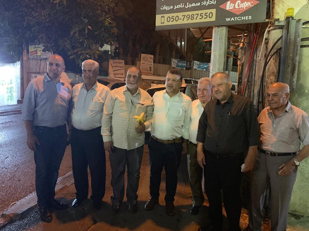 الناصرة: اجتماع حاشد للقائمة المشتركة