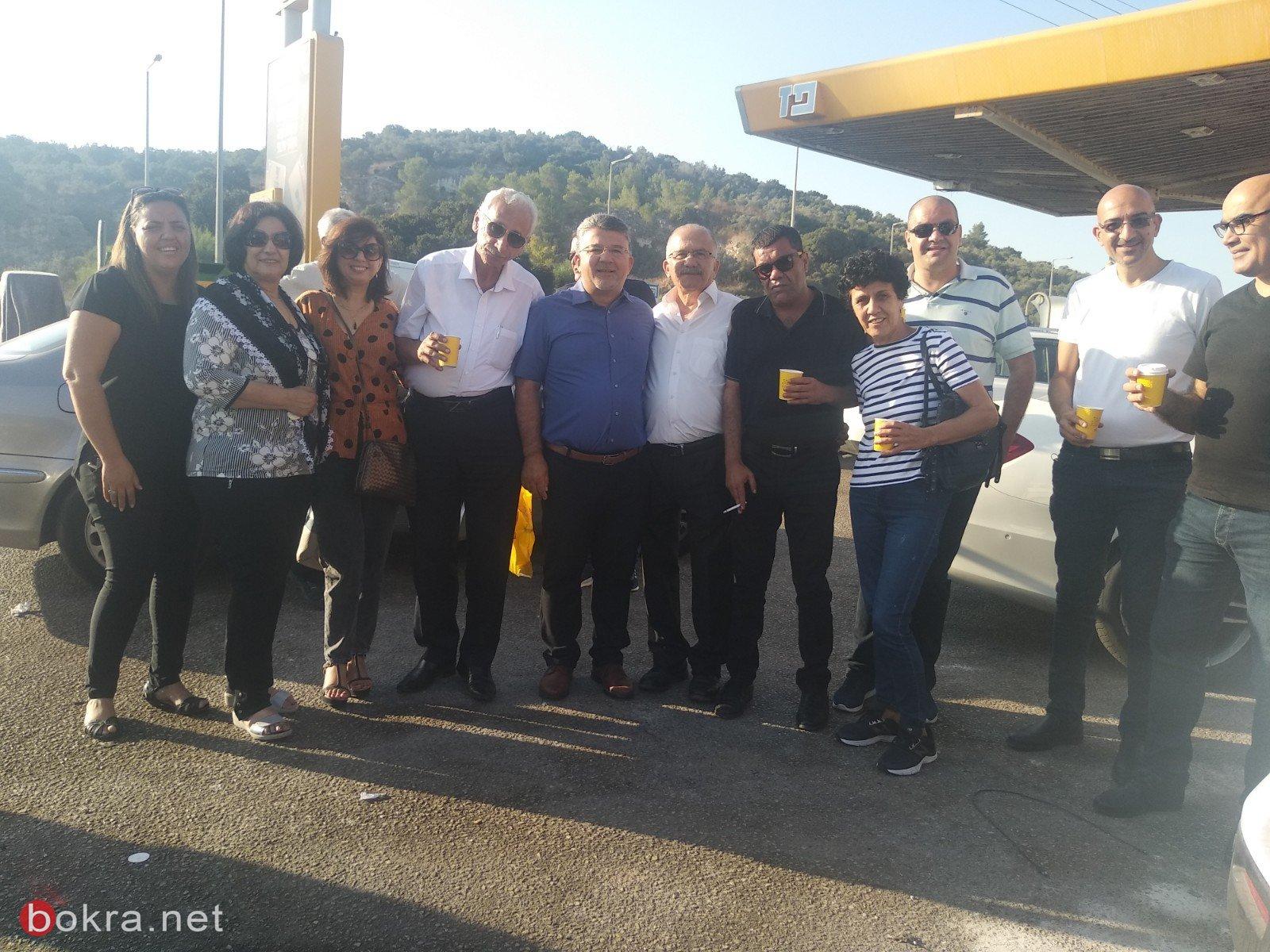 مسيرة السيارات تشلّ شارع 6 وتصل منطقة القدس .. نحو الف مركبة