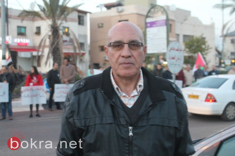 سخنين: تصريحات ترامب وحدت الشعب العربي الفلسطيني-0