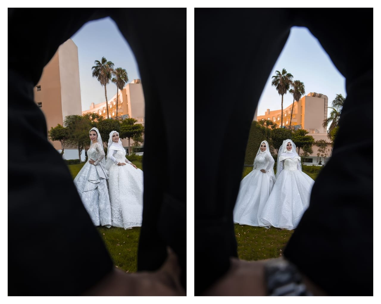 مصري يفاجئ والدته بالزفاف على 4 فتيات 84133494