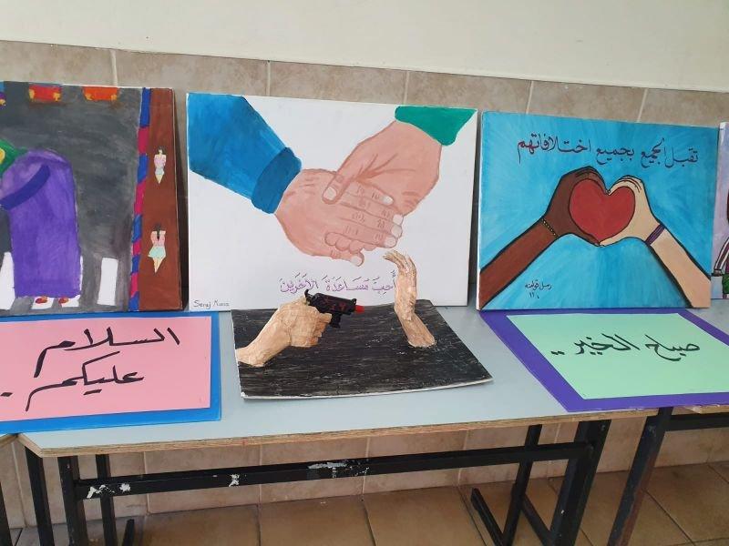 أجواء طيبة في يوم الكلمة الطيبة بمدرسة أورط على أسم حلمي الشافعي عكا