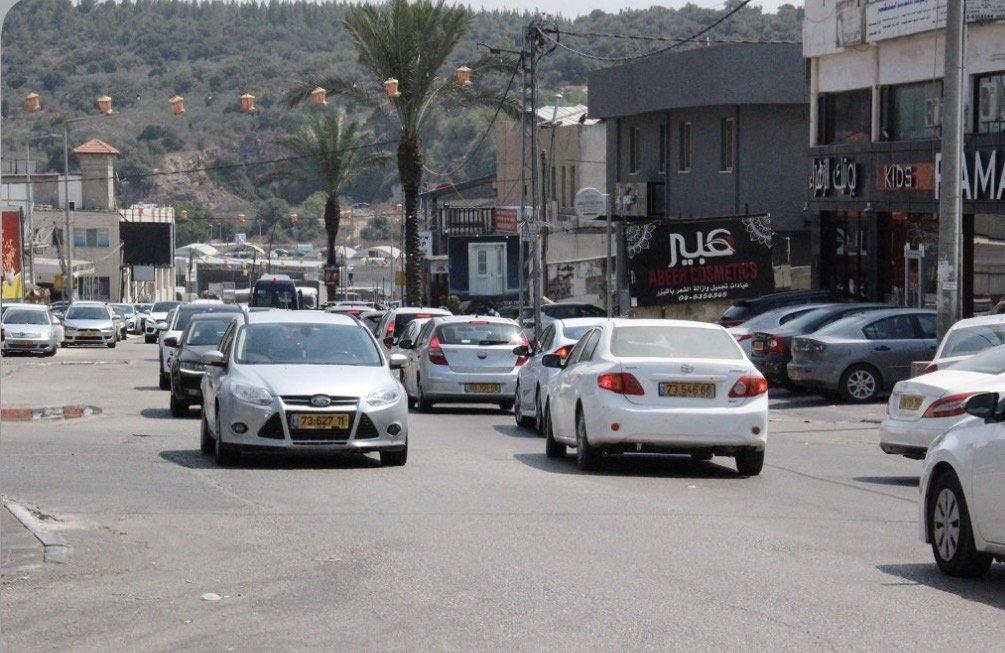 بعد تخفيف القيود .. حركة تجارية نشطة في قرى وادي عارة-0