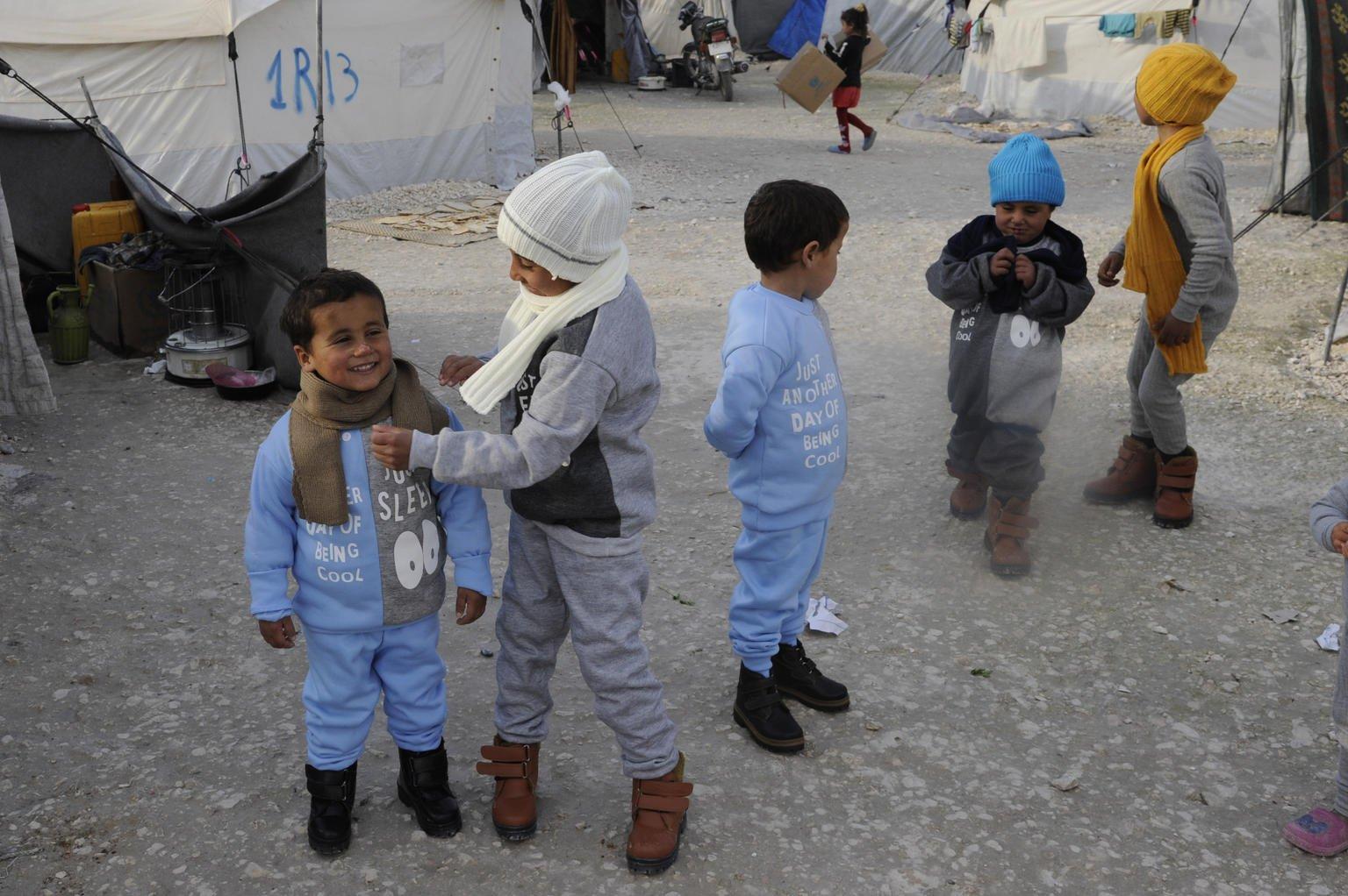 بإمكانهم المساهمة بإنقاذ الأطفال في سوريا امنين