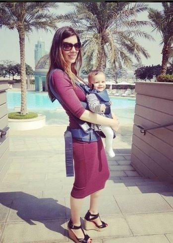 نجمة ستار اكاديمي بهاء الكافي تنشر صورًا لها مع طفلتها