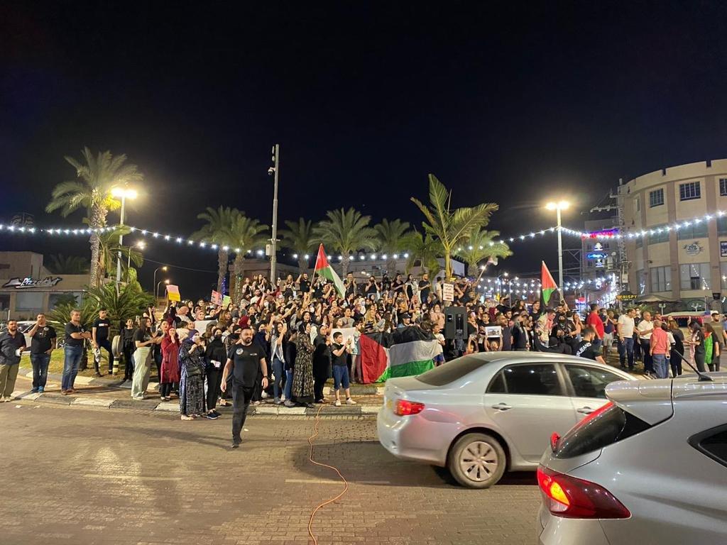 رغم سقوط الصواريخ في محيطها:الكطيرة تتضامن مع القدس-2