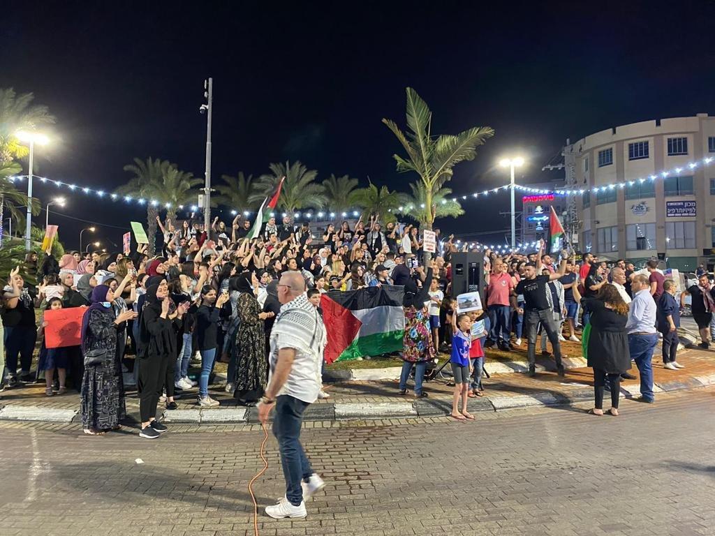 رغم سقوط الصواريخ في محيطها:الكطيرة تتضامن مع القدس-3