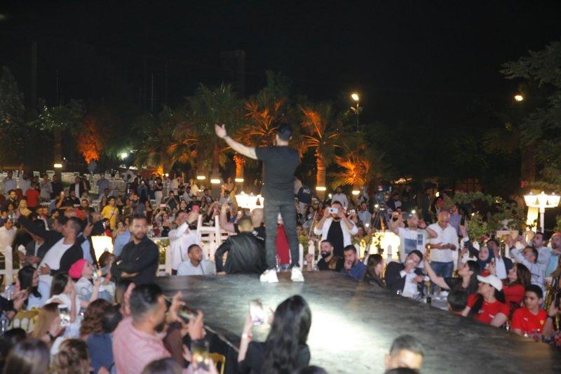 سيف نبيل يتالق باجمل حفلات عيد الفطر