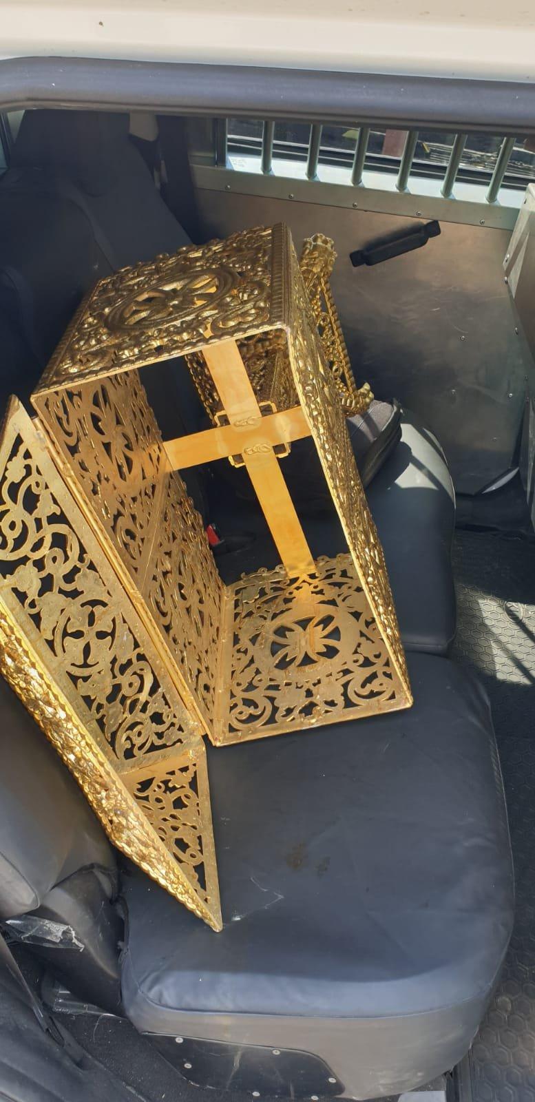 اعتقال شخصيّن قاما بسرقة الكنيسة اليونانية في طبريا