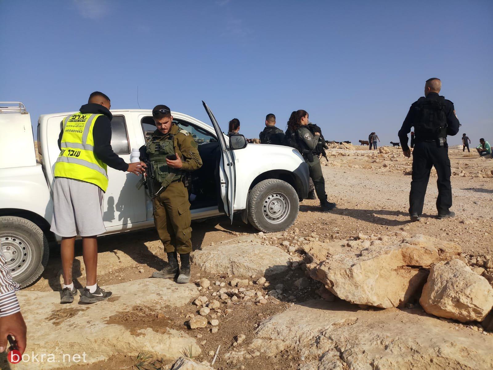 الاحتلال يهدم غرفتين سكنيتين في المنطار ببادية القدس