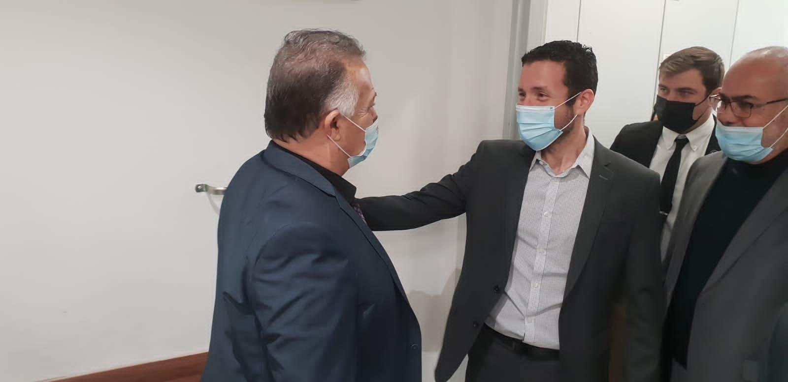 وزير العمل والرفاه الاجتماعي يزور بلدية الناصرة-1