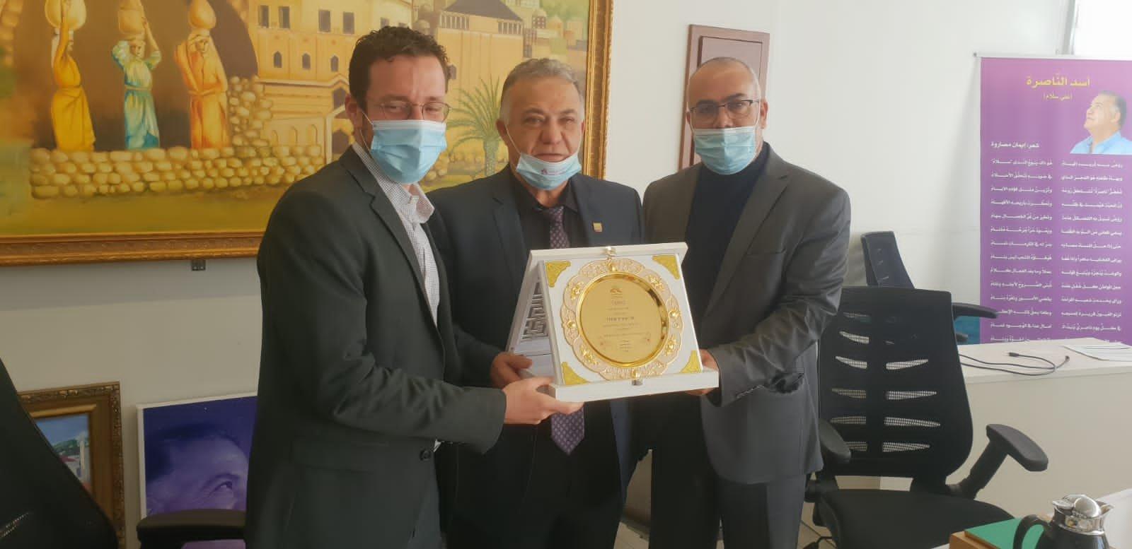 وزير العمل والرفاه الاجتماعي يزور بلدية الناصرة-4