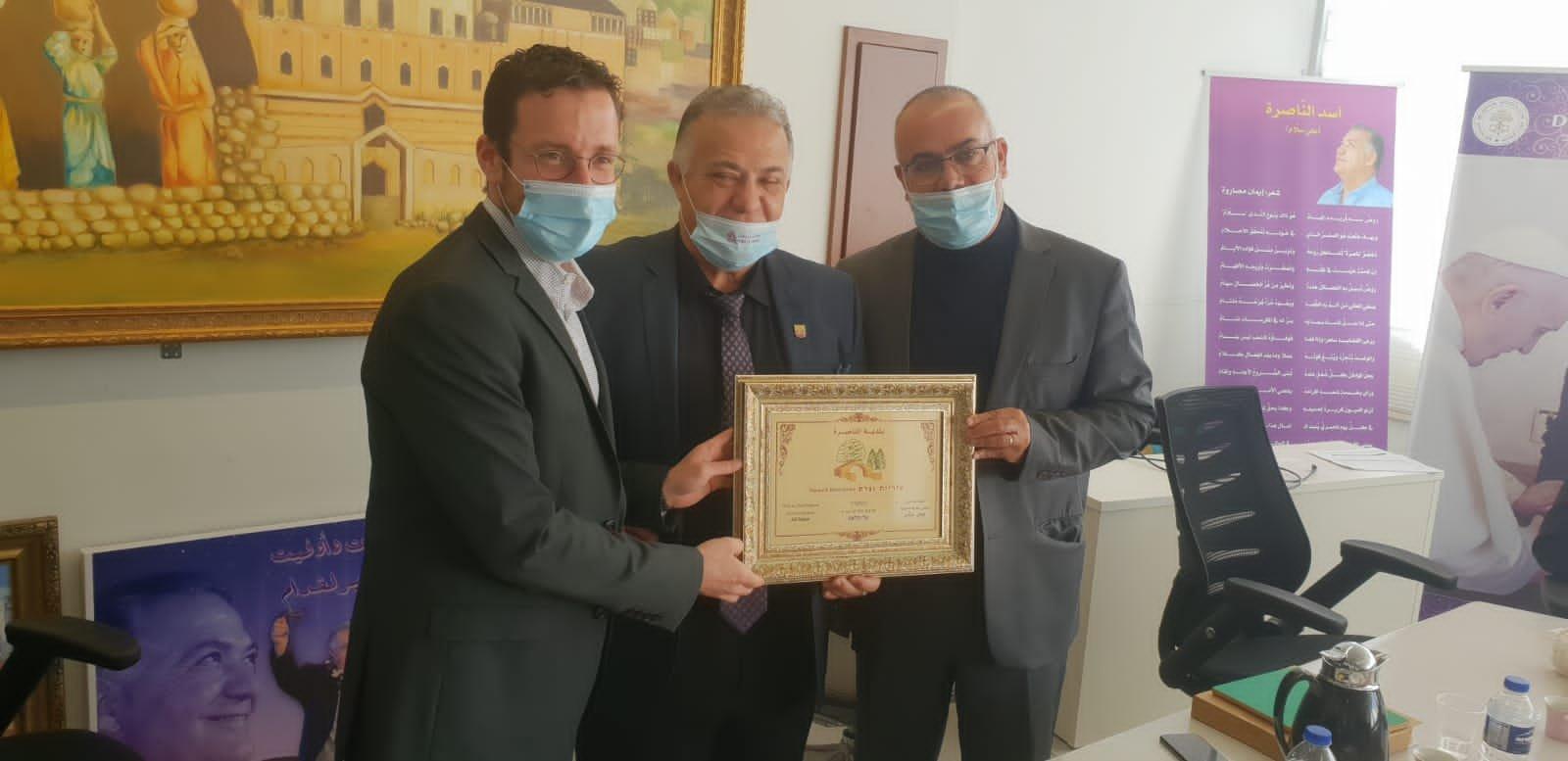 وزير العمل والرفاه الاجتماعي يزور بلدية الناصرة-5
