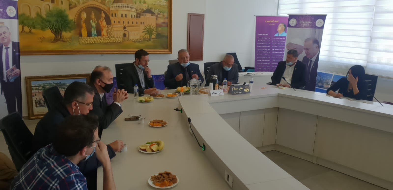 وزير العمل والرفاه الاجتماعي يزور بلدية الناصرة-6