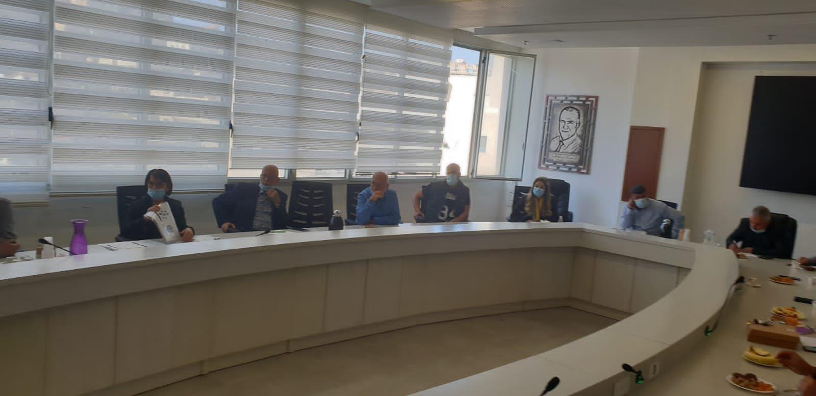 وزير العمل والرفاه الاجتماعي يزور بلدية الناصرة-10