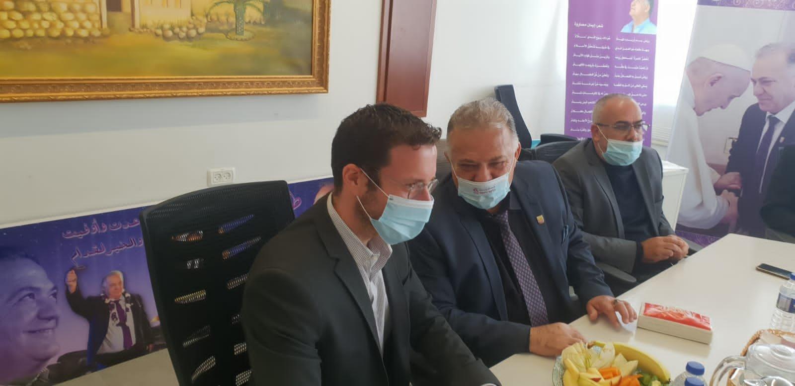 وزير العمل والرفاه الاجتماعي يزور بلدية الناصرة-11