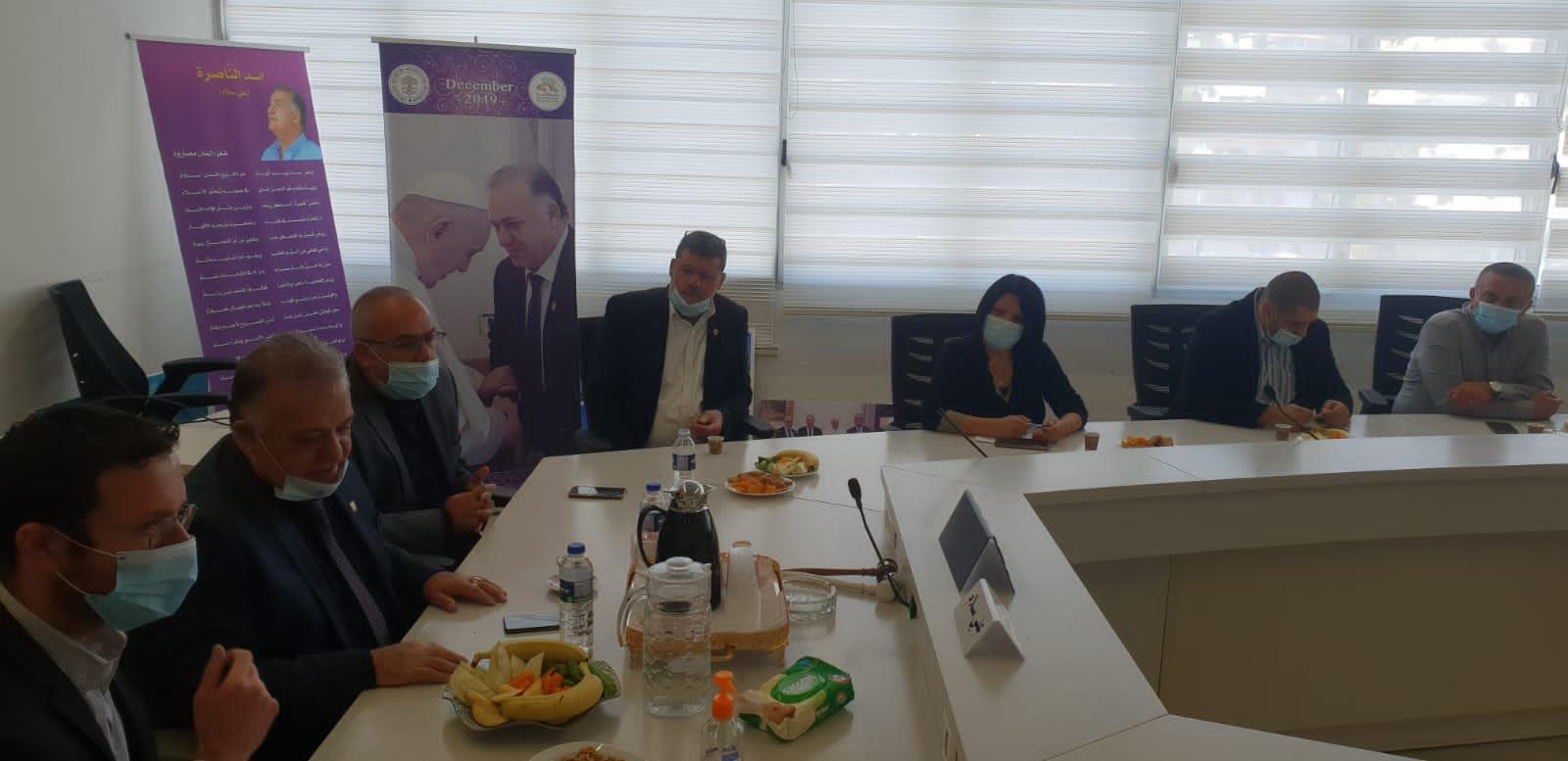 وزير العمل والرفاه الاجتماعي يزور بلدية الناصرة-13