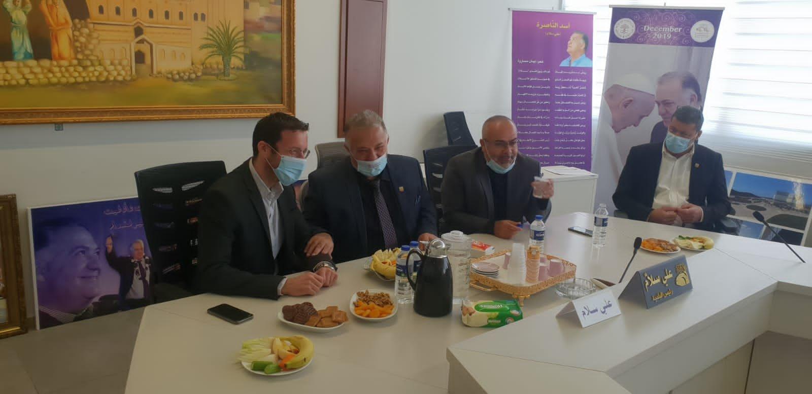 وزير العمل والرفاه الاجتماعي يزور بلدية الناصرة-14