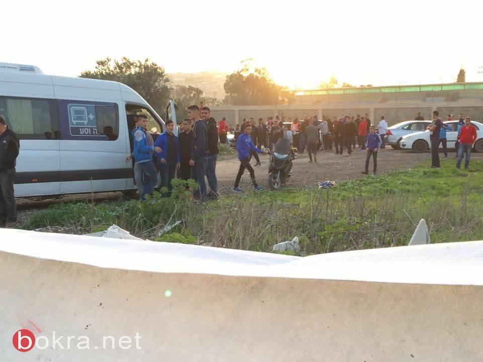مخجل!!شجار بعد انتهاء مباراة اتحادباقة ومصمص