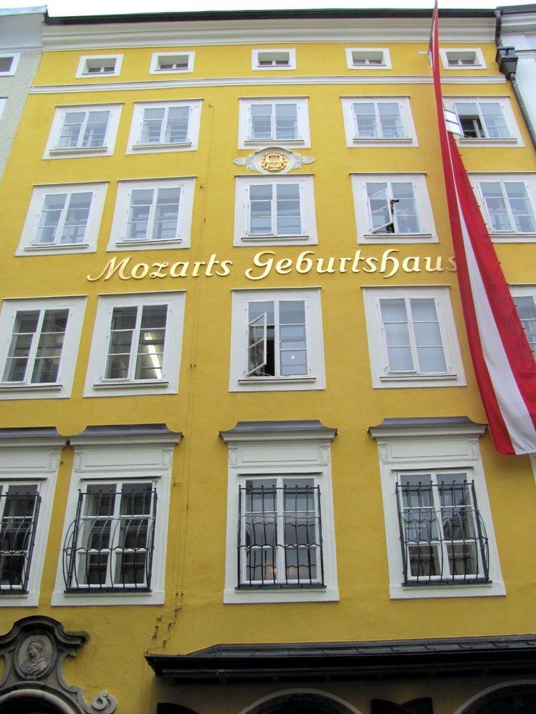 السفر إلى النمسا: سالزبورغ مدينة موزارت