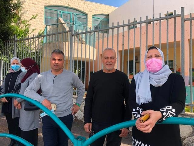 كفرقرع في مظاهرة طلابية منددة بالعنف