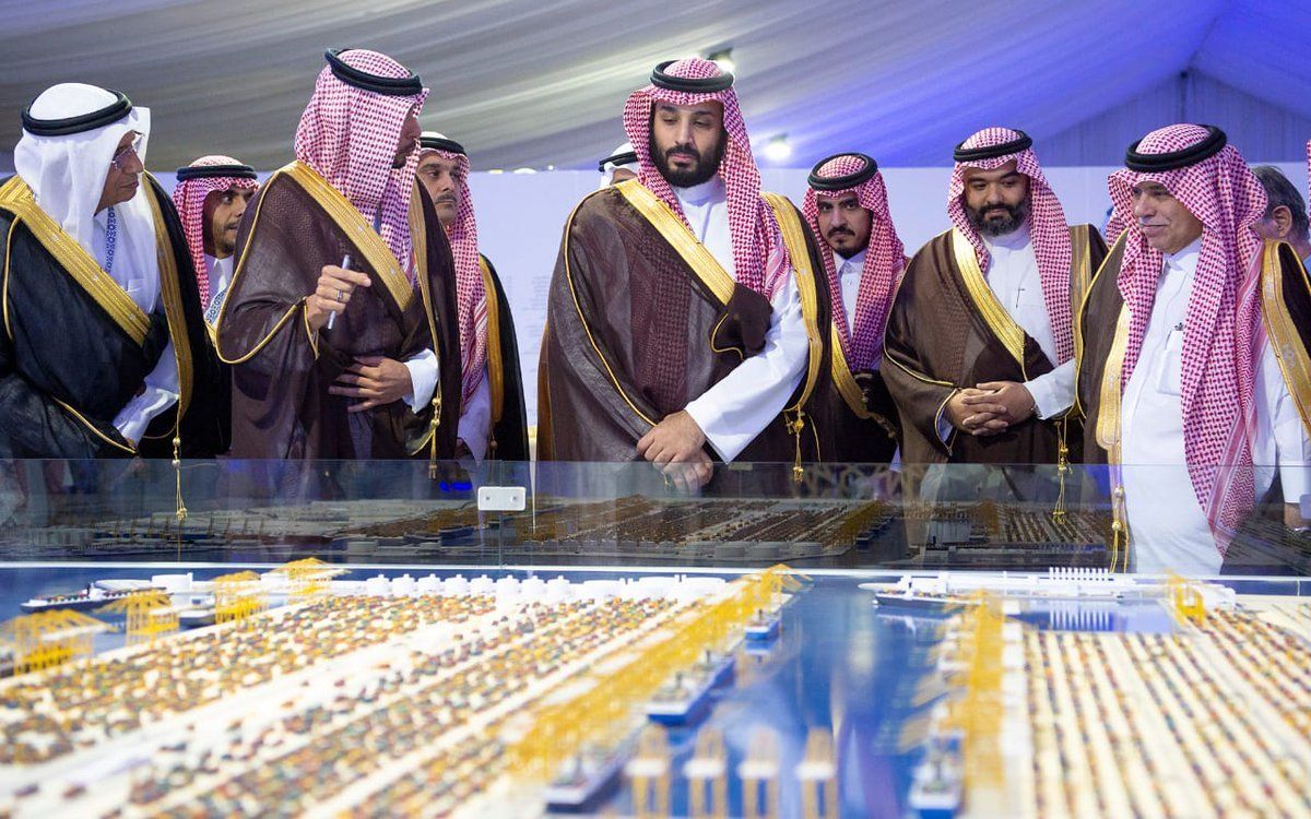 بن سلمان يدشن ميناءً سيعزز مكانة السعودية الاقتصادية