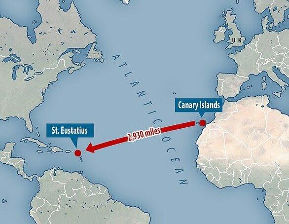 مغامرٌ ينهي رحلة الـ 128 يوماً عبر المحيط.. في برميل!