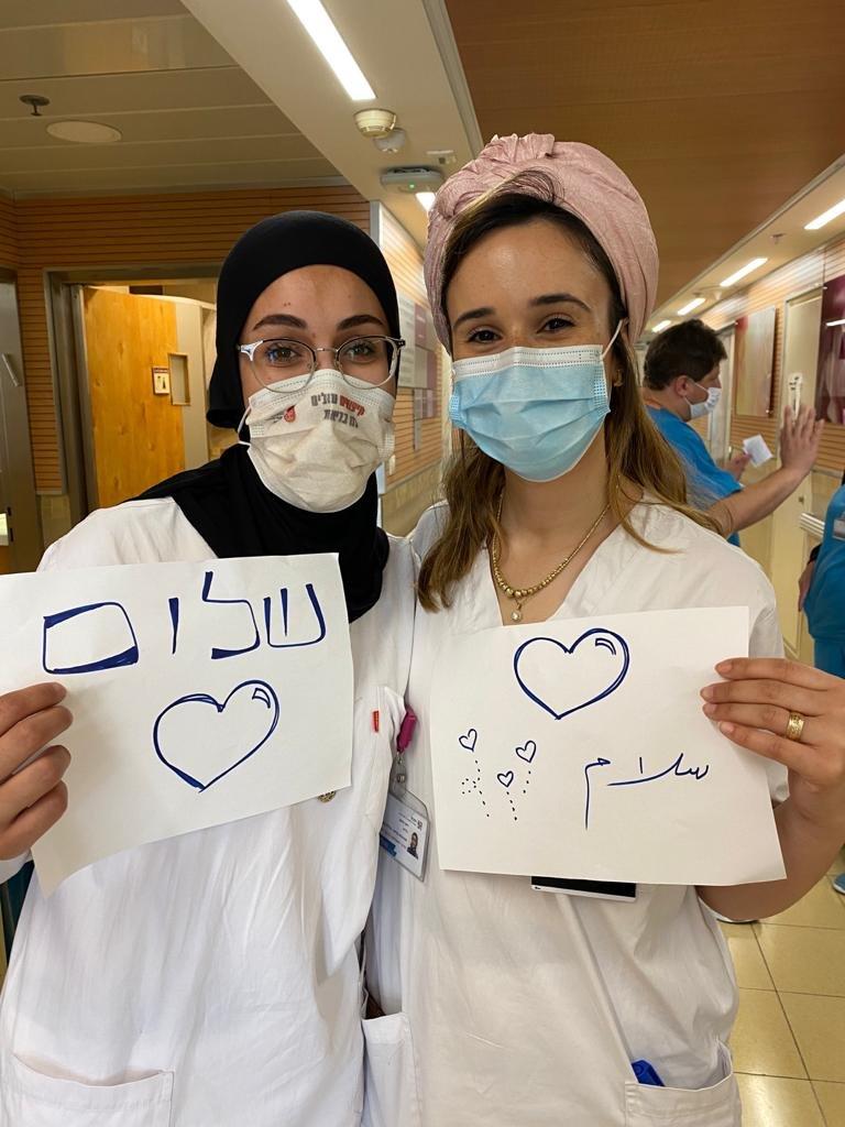 اطباء وممرضو رمبام في حملة انسانية رائعة لنشر رسالة السلام والتعايش المشترك