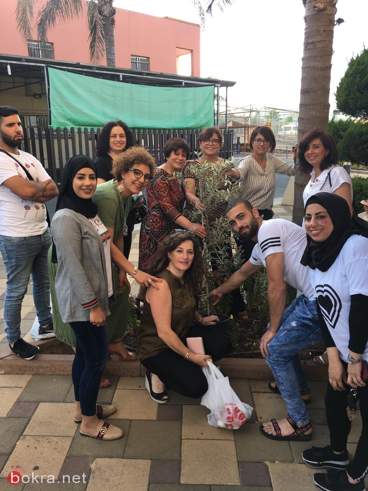 سفيرات مستشفى الناصرة- الإنجليزي في زيارة لمؤسسة كفر كنا لذوي الاحتياجات الخاصة