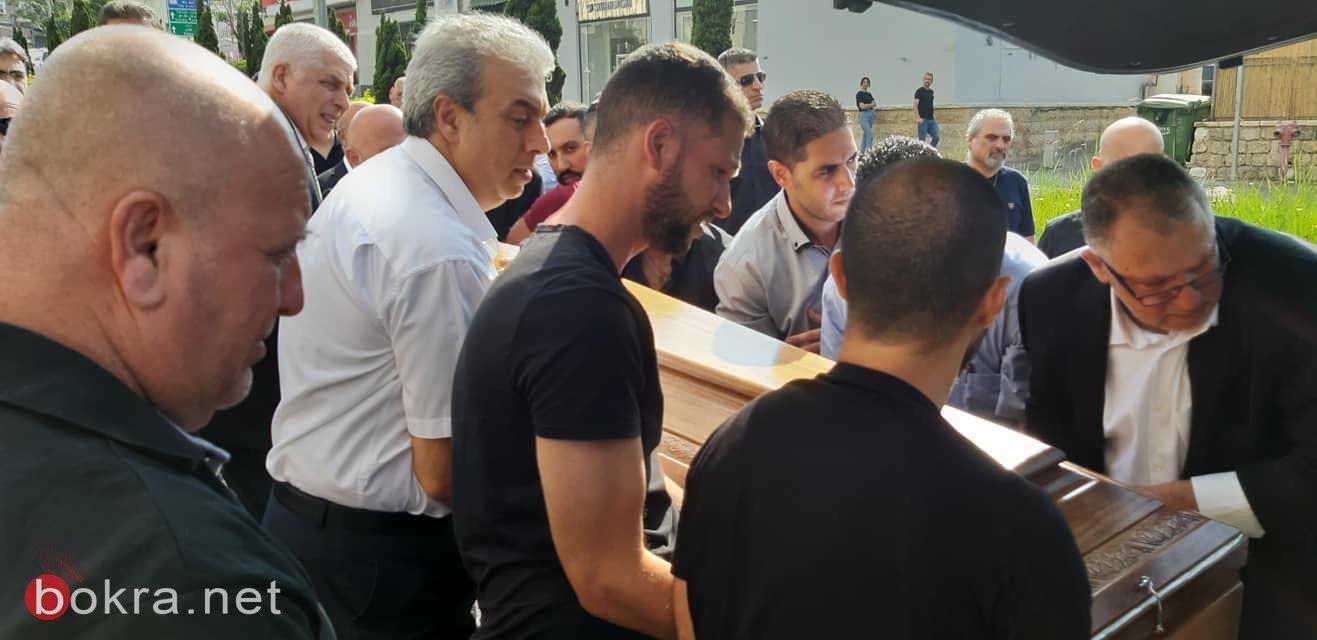 حيفا تشيّع ابنها رامي أيّوب ضحيّة لقمة العيش