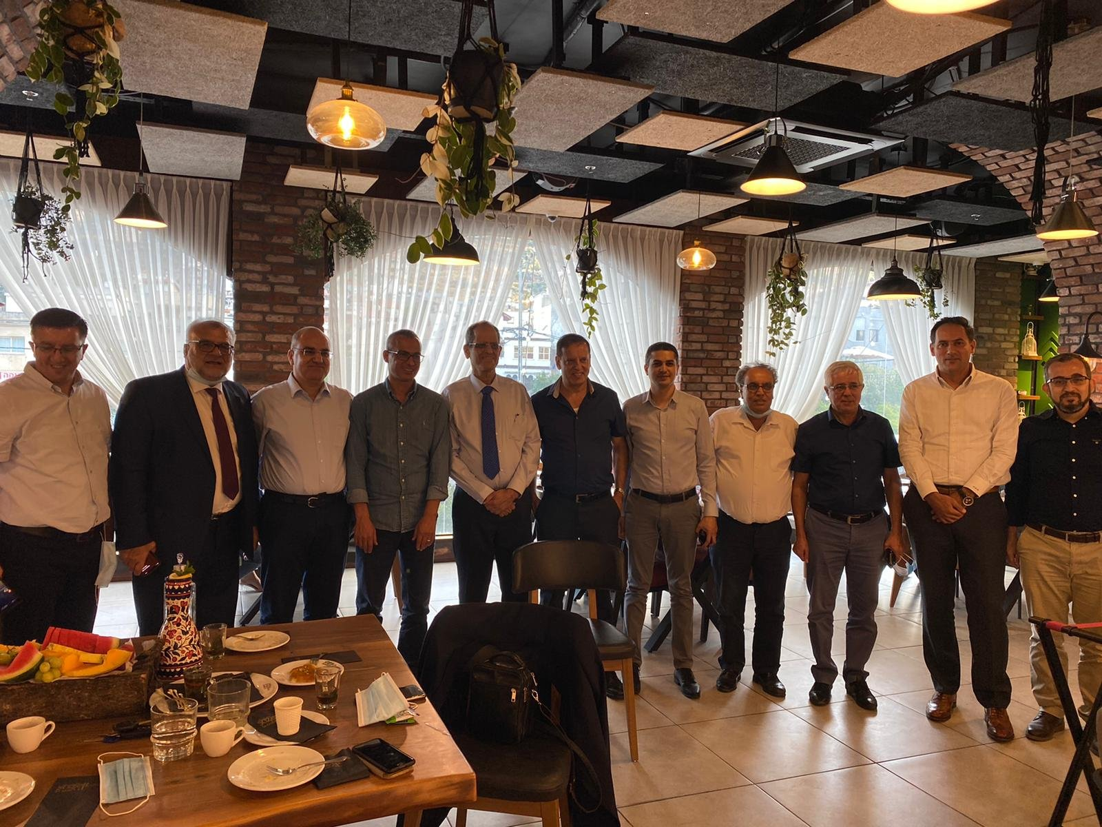 تنظيم ورشة عمل مهنية في سخنين بمبادرة من المنتدى الاقتصادي العربي ومدير عام بنك إسرائيل وأعضاء مجلس إدارة البنك.