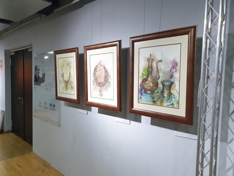 افتتاح معرض منارات مقدسية ذاكرة وحكاية للفنانة نادين طوقان