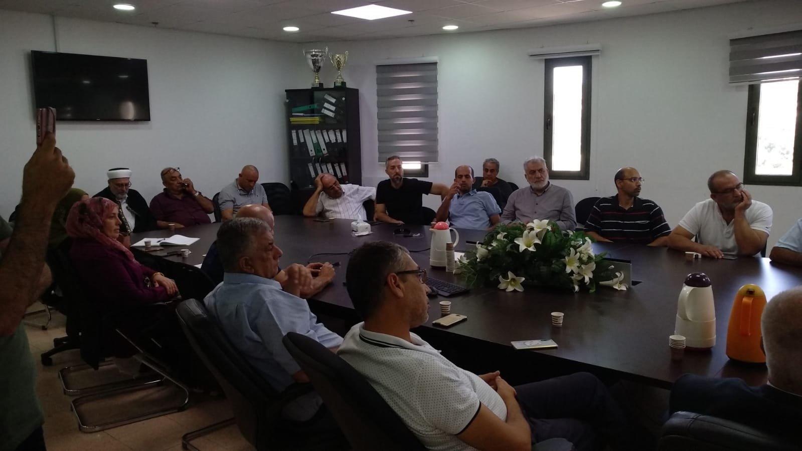 عرعرة - عارة: مظاهرة وأضراب عقب جريمة القتل-2