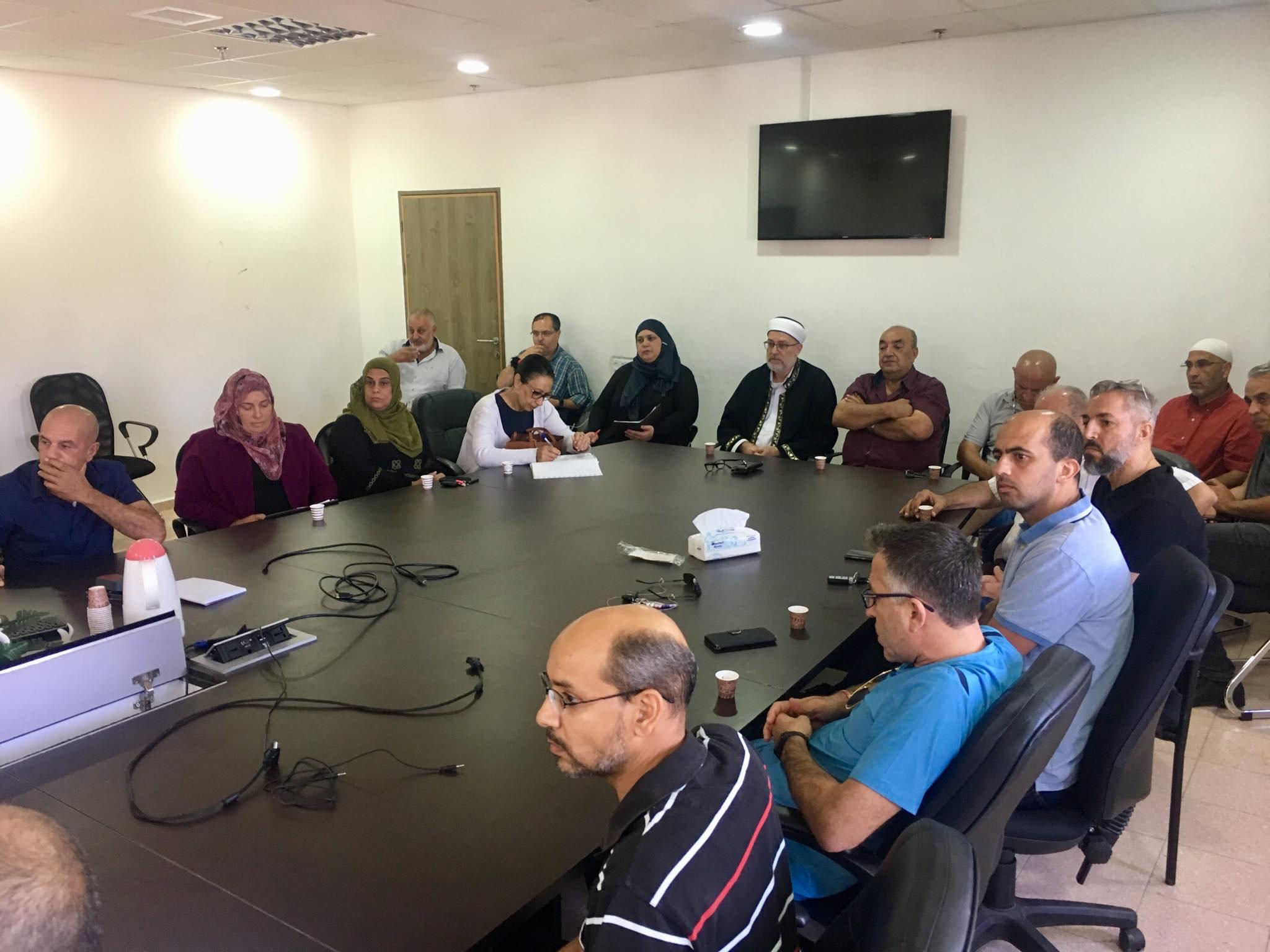 عرعرة - عارة: مظاهرة وأضراب عقب جريمة القتل-3