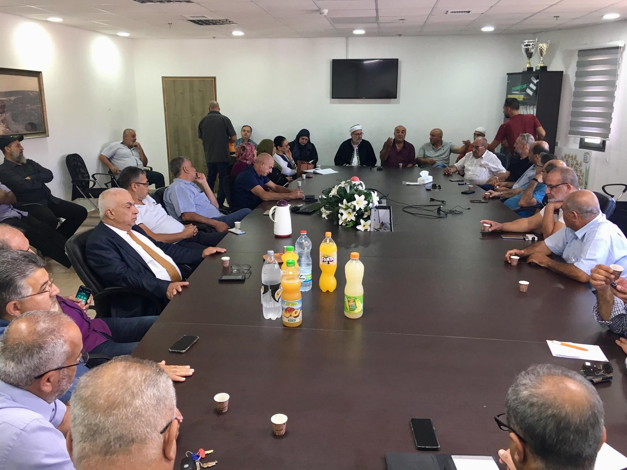 عرعرة - عارة: مظاهرة وأضراب عقب جريمة القتل-4