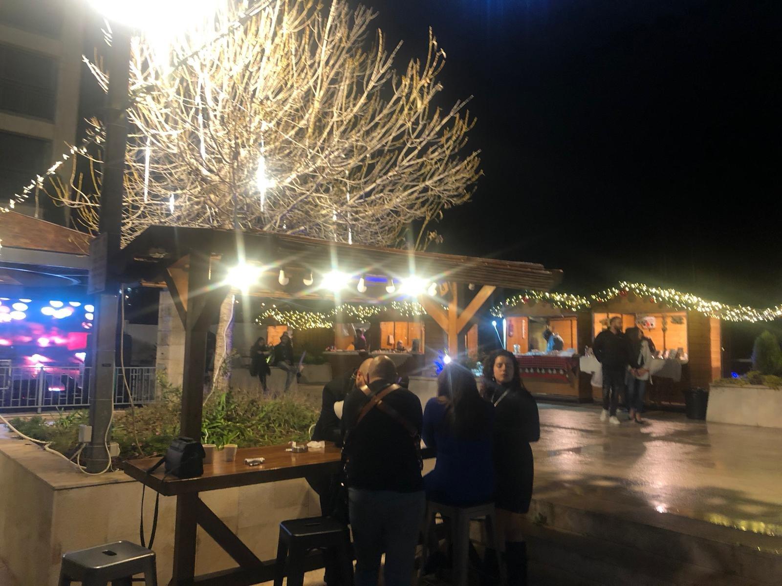 الناصرة: سوق الميلاد في الجولدن كراون .. أجواء أكثر من رائعة
