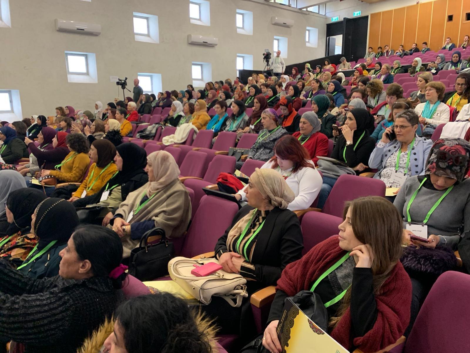 حضور واسع في مؤتمر نساء يصنعن التغيير في جفعات حبيبة